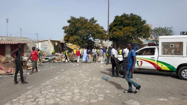 Déguerpissement au marché de  Pétersen : les marchands ambulants menacent de s'immoler par le feu