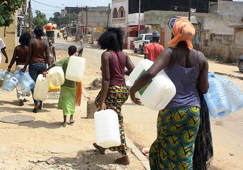 Pénurie d'eau dans la capitale : Le calvaire devrait prendre fin ce samedi