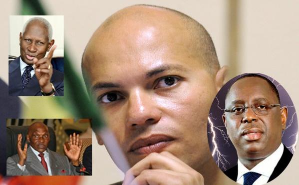 Question du dimanche de Senegal7.com : Qui des trois Présidents: Abdou Diouf, Abdoulaye Wade et Macky Sall a réellement condamné Karim Wade?