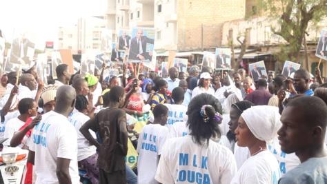 Le Mouvement libérez Karim chez le Khalife des mourides