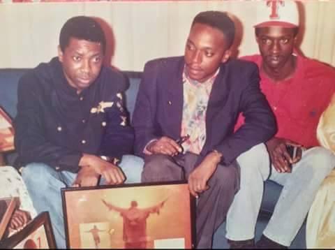 Souvenir - Youssou Ndour et Fallou Dieng au début des années 90
