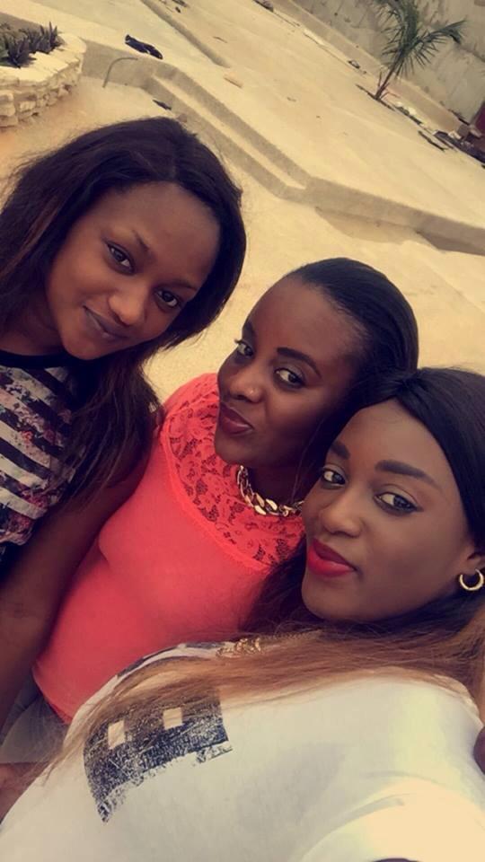 Kya Aïdara de TFM passe de bons moments avec ses copines