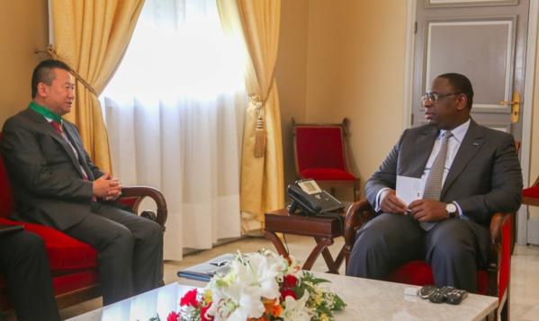 En fin de mission au Sénégal: L'ambassadeur de la Chine au Sénégal reçu en audience par le Président Sall