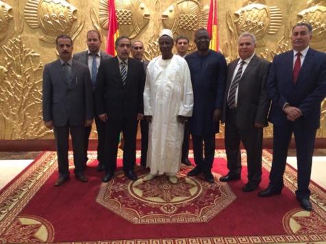 Alpha Condé a reçu à Conakry, le président du Parlement libyen : L'homme d'affaires Thiessois Mamadou Dia  au coeur du dispositif pour une solution africaine a la crise libyenne