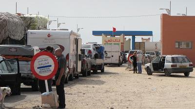 Des Sénégalais, à bord de 72 véhicules, bloqués à la frontière entre le Sénégal et la Mauritanie