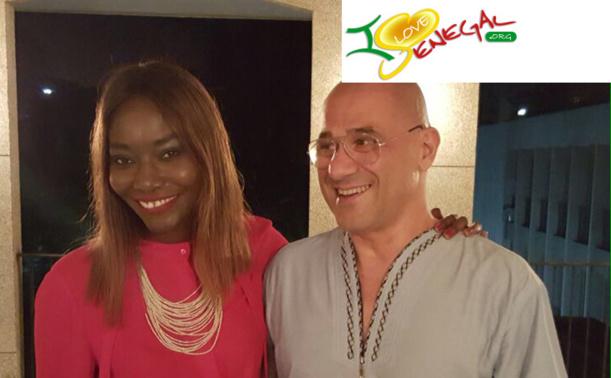 Coumba Gawlo et Arturo Luizzi, Ambassadeur d'Italie au Sénégal, affichent leur complicité
