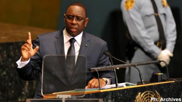 Macky Sall à New-York pour la 70ème session de l'Assemblée générale de l'ONU