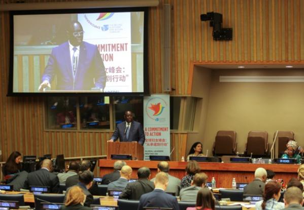 Parité : Macky Sall donne en exemple le Sénégal