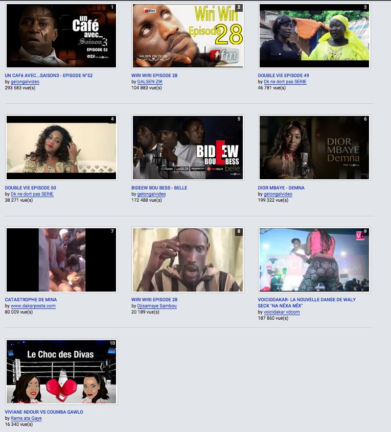 """""""Un Café avec…"""", la série la plus recherchée et regardée sur Internet au Sénégal"""
