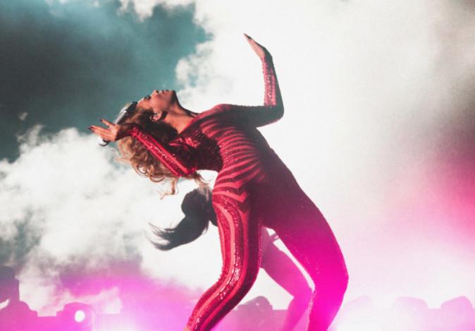 Photos - Beyoncé à Las Vegas : un show aussi époustouflant... qu'assourdissant !