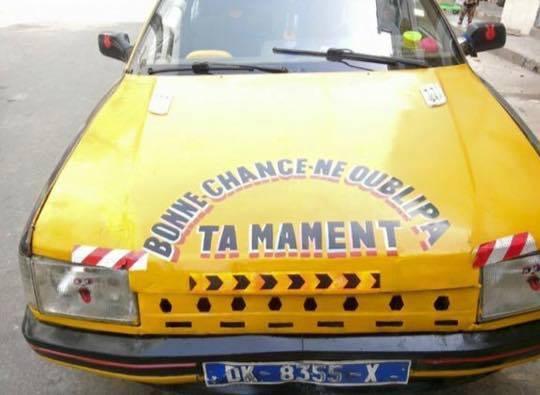 Le taxi le plus sollicité de Dakar: No Comment !
