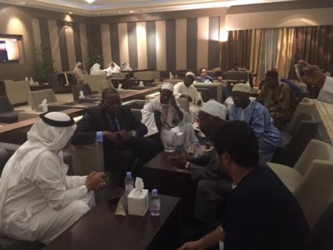 Mankeur Ndiaye est arrivé samedi soir à la Mecque