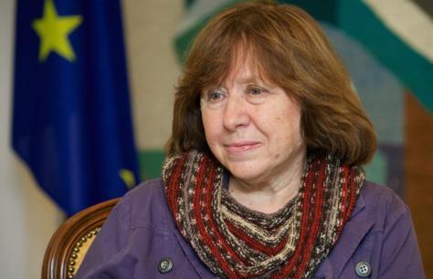 Prix Nobel de Littérature 2015 : Svetlana Alexievitch remporte la palme