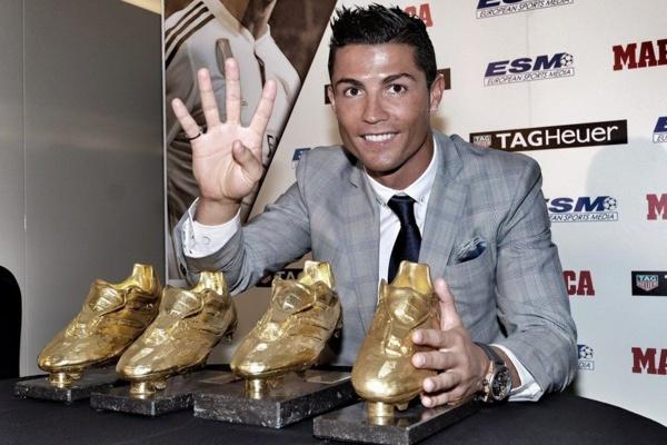 Ronaldo, déjà un 4e Soulier d'or