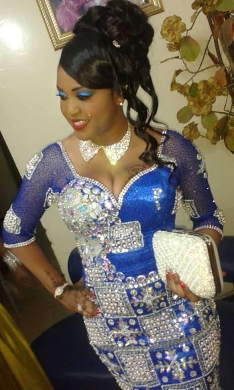 Alima Ndione: radieuse le jour de son mariage !
