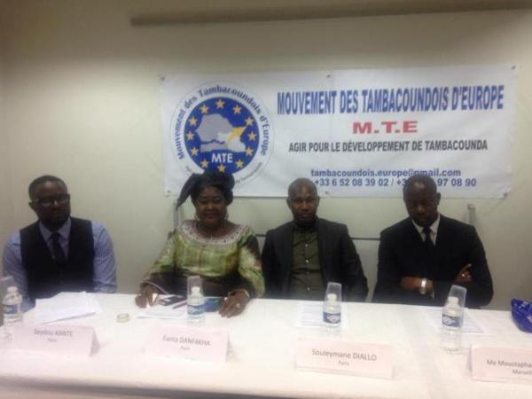 Développement:  le Mouvement des Tambacoundois d'Europe (MTE) porté sur les fonds baptismaux avec pleins de projets (texte et images)