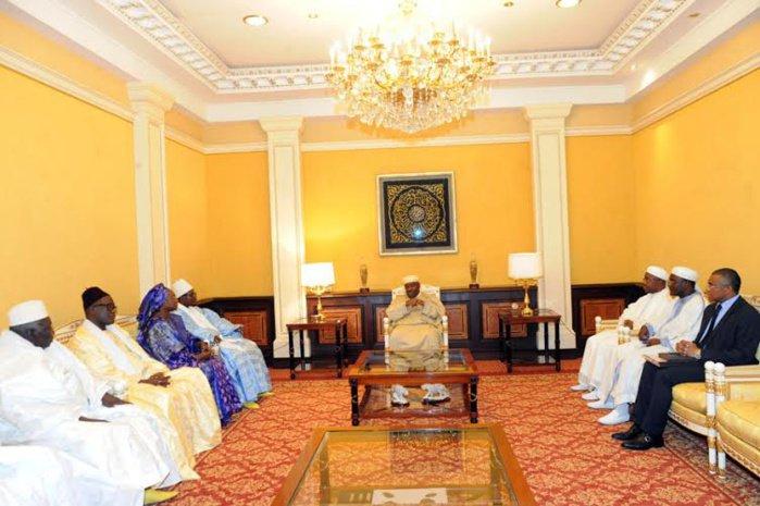 Le Président gabonais, Ali Bongo, reçoit Serigne Bass Abdou Khadre Mbacké