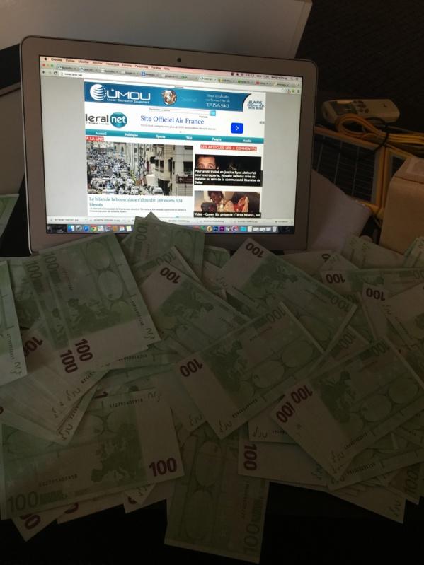 """Un employé de """"Lobbou Mame Diarra"""" tombe avec une importante quantité de faux billets"""
