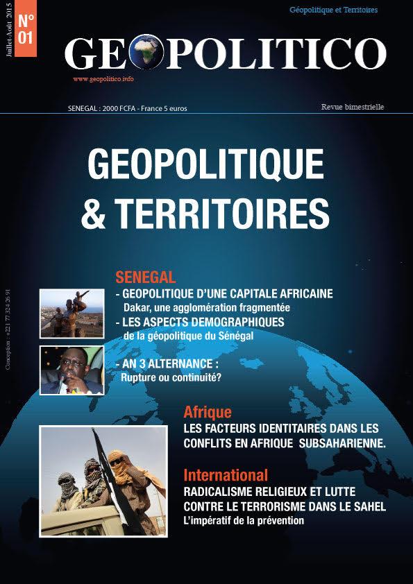 Géopolitico (Géopolitique et Territoires) revue bimestrielle innovante dédiée à l'analyse des questions géopolitiques et des relations internationales.