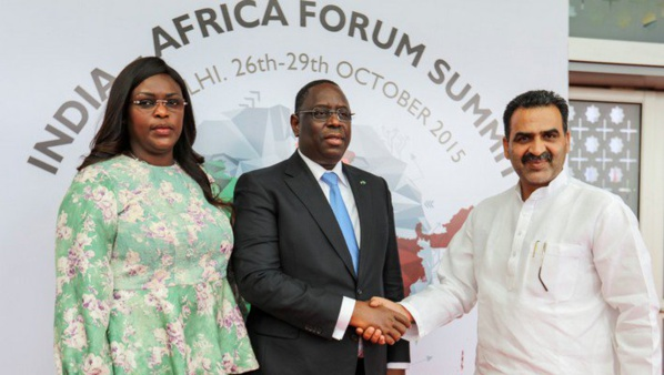 Sommet Afrique-Inde : Tapis rouge pour Macky Sall