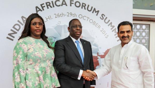 Sommet Afrique-Inde : Tapis rouge pour Macky Sall