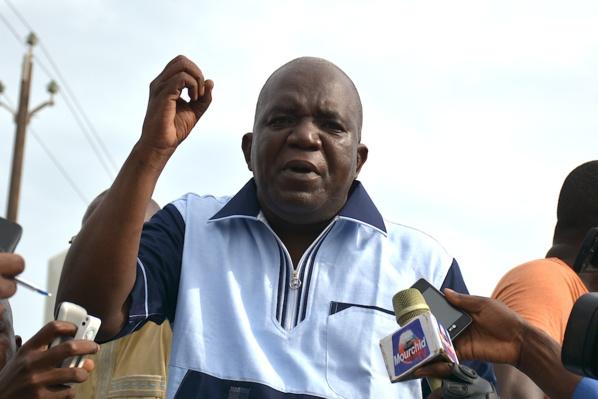 """Grand rassemblement du Pds à la Place Soweto, Oumar Sarr furax : """"La police, on s'en f... »"""