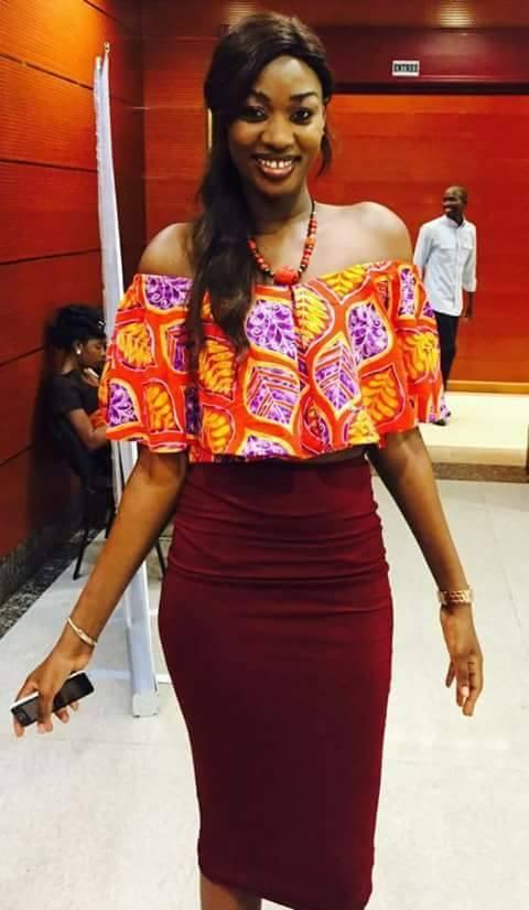 Le mannequin Fatoufine Niang étale sa classe