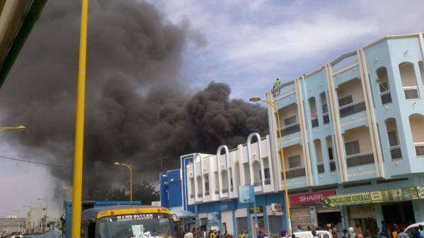 TOUBA- Incendie pendant 6 tours d'horloge, plusieurs millions emportés