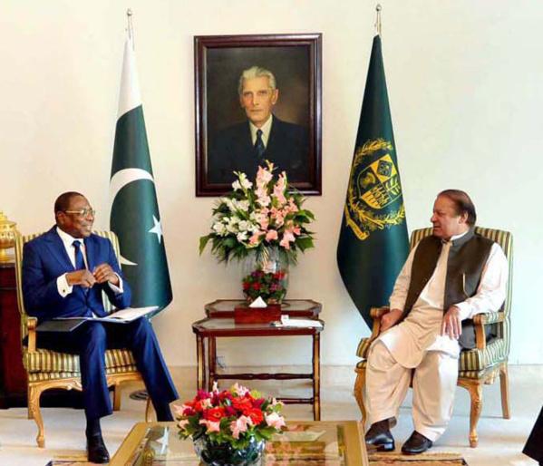 Le chef de la diplomatie Sénégalaise reçu par le PM Pakistanais: L'agriculture et le textile au cœur de l'entretien entre Mankeur Ndiaye et Nawaz Sharif