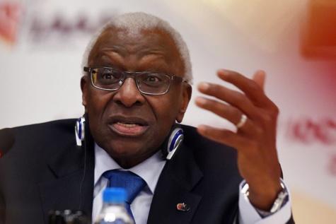 L'ex-président de la Fédération internationale d'athlétisme, Lamine Diack.
