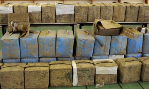 Opération de saisie de drogue par la gendarmerie : 5 personnes arrêtées avec plus d'une tonne de cannabis