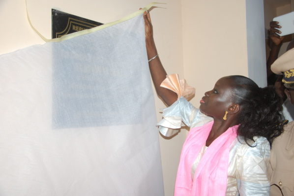 Photos - Kaolack : Thérèse Faye Diouf inaugure la Case des Tout-Petits de Gamboul Thiomby