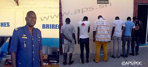 Arrestation d'une bande de cambrioleurs présumés à Saint-Louis