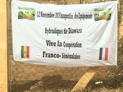 Inauguration du système d'adduction d'eau potable de la commune de Diawara