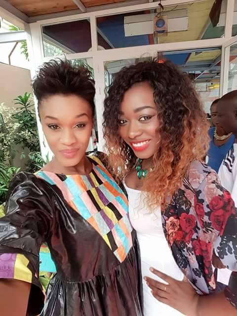 Ndèye Ndack Touré en toute complicité avec Bijou Ndiaye