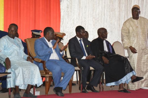 Le Président Macky Sall à l'Ucad, ce mardi