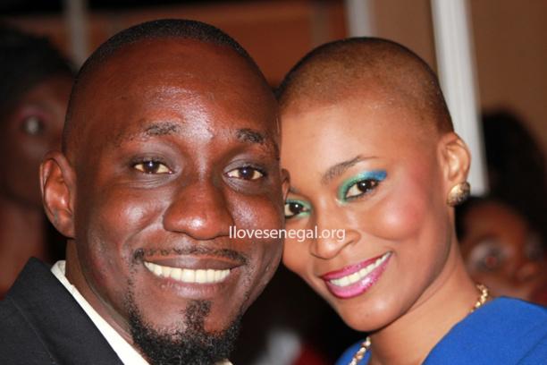 Ndèye Ndack: Souriante et complice avec Chon