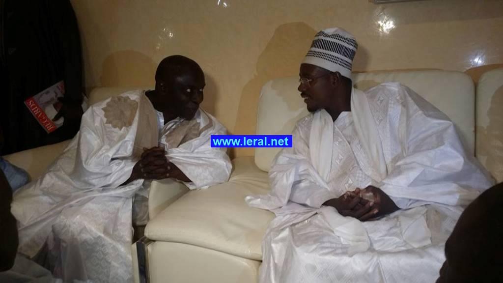 En images la visite de Idrissa Seck à Touba