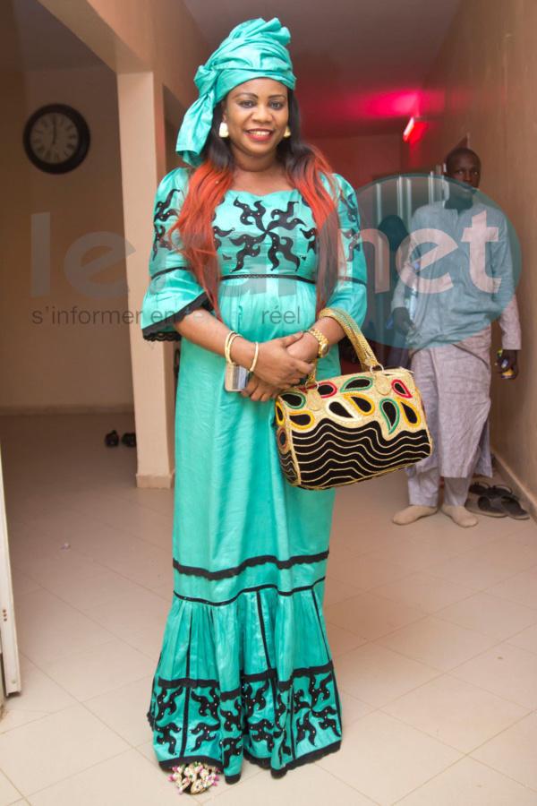 Admirez la magnifique robe de Daba Sèye à Touba