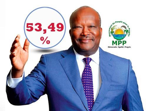 Roch Marc Kaboré remporte l'élection présidentielle dès le premier tour