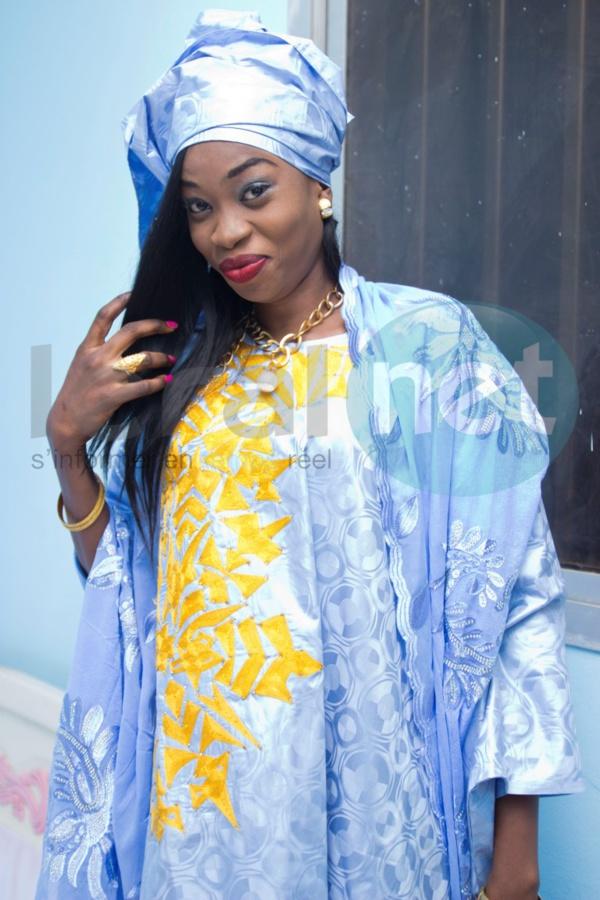 Sokhna Mame Diarra, la fille de Serigne Moustapha Khassaïdes, tout simplement splendide !