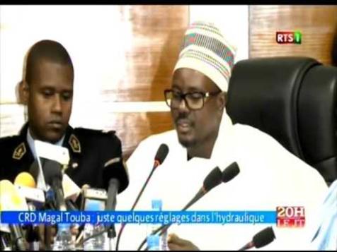 Vidéo, La Cérémonie Officielle du Grand Magal de Touba 2015 : Racine Talla n'a pas dormi pendant 48h