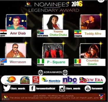 Kora  Awards 2016 : La diva Coumba Gawlo et Adiouza en compétition