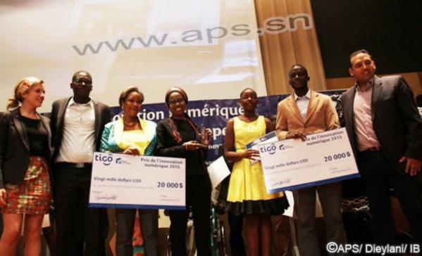 Prix de l'innovation numérique : « Diamond » et « Cybercase », les deux projets sacrés recevront chacun la somme de 11 millions FCFA
