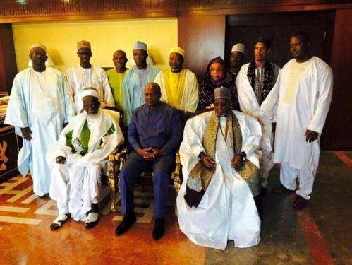 Ghana: Le khalife de Médina Baye, Cheikh Tidiane Ibrahima Niasse, reçu par le Président Jonh Dramani Mahama