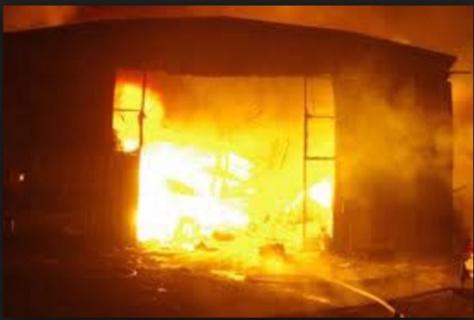 CICES : un incendie au Pavillon vert fait d'énormes dégâts matériels