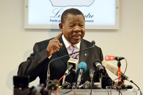 Lambert Mende, porte parole du gouvernement de la République du Congo