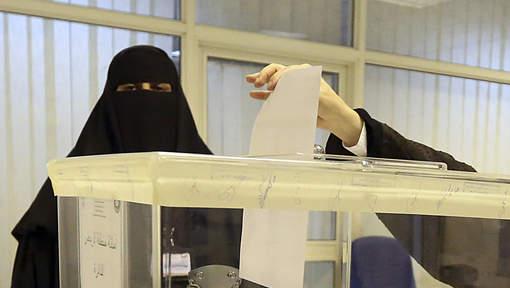 La participation des Saoudiennes a atteint près de 80% par endroits