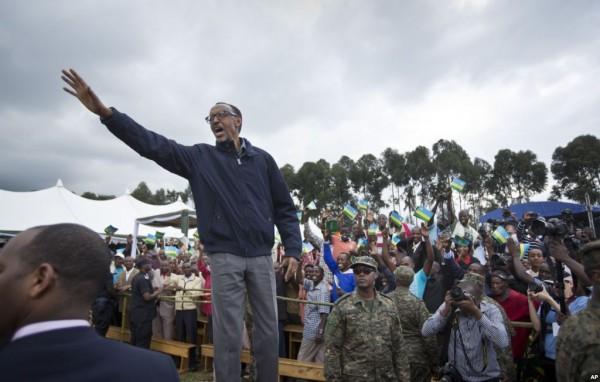 Rwanda : Le Président Kagame suspendu au référendum