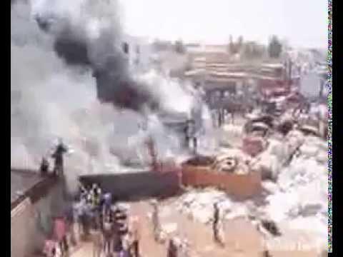 Pourquoi l'incendie du Cices a ravagé tout le Pavillon vert : Les extincteurs n'ont pas fonctionné